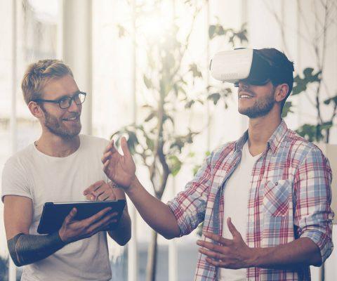 Werkplezier door het toepassen van VR