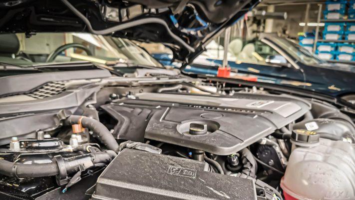 Motor vastgelegd multimedia campagne